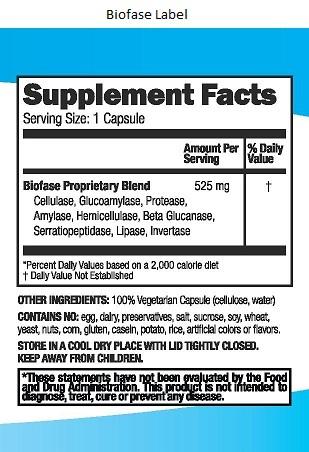 Biofase-Label