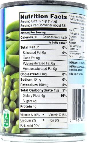 Green-Pea-Label