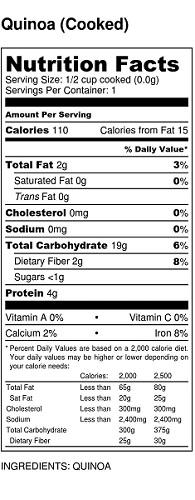 Quinoa-Nutrition-Label